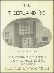 Page 7, 1950 Edition, A and M Consolidated High School - Tigerland Yearbook (College Station, TX) online yearbook collection