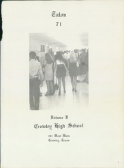 Page 5, 1971 Edition, Crowley High School - Talon Yearbook (Crowley, TX) online yearbook collection