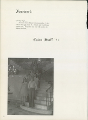 Page 6, 1971 Edition, Crowley High School - Talon Yearbook (Crowley, TX) online yearbook collection