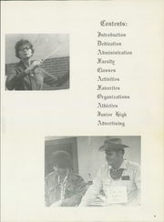 Page 7, 1971 Edition, Crowley High School - Talon Yearbook (Crowley, TX) online yearbook collection