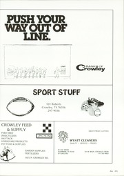 Page 225, 1987 Edition, Crowley High School - Talon Yearbook (Crowley, TX) online yearbook collection
