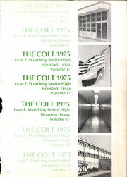 Page 5, 1975 Edition, Worthing High School - Colt Yearbook (Houston, TX) online yearbook collection