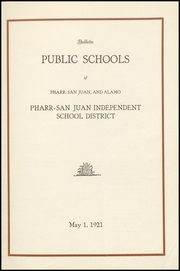 Page 5, 1921 Edition, Pharr San Juan Alamo High School - Bear Memories Yearbook (Alamo, TX) online yearbook collection
