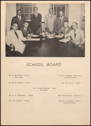 Page 12, 1952 Edition, Pharr San Juan Alamo High School - Bear Memories Yearbook (Alamo, TX) online yearbook collection