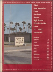 Page 5, 1984 Edition, Pharr San Juan Alamo High School - Bear Memories Yearbook (Alamo, TX) online yearbook collection