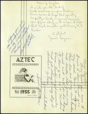 Page 5, 1955 Edition, Bowie High School - Aztec Yearbook (El Paso, TX) online yearbook collection