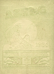 1956 Edition, Bowie High School - Aztec Yearbook (El Paso, TX)