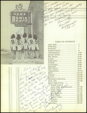Page 10, 1957 Edition, Bowie High School - Aztec Yearbook (El Paso, TX) online yearbook collection