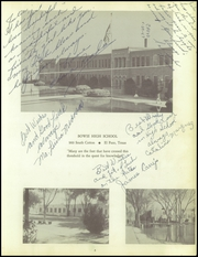Page 7, 1957 Edition, Bowie High School - Aztec Yearbook (El Paso, TX) online yearbook collection