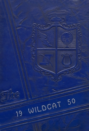 1950 Edition, Gregory Portland High School - Wildcat Yearbook (Gregory, TX)