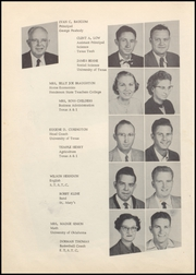 Page 12, 1955 Edition, Gregory Portland High School - Wildcat Yearbook (Gregory, TX) online yearbook collection