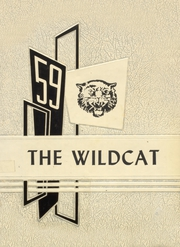 1959 Edition, Gregory Portland High School - Wildcat Yearbook (Gregory, TX)