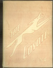 Page 1, 1954 Edition, Uvalde High School - Coyote Yearbook (Uvalde, TX) online yearbook collection