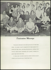 Page 6, 1957 Edition, Uvalde High School - Coyote Yearbook (Uvalde, TX) online yearbook collection