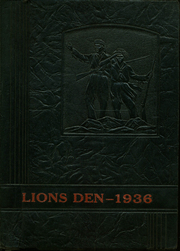 1936 Edition, Henderson High School - Lions Den Yearbook (Henderson, TX)