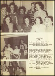 Page 8, 1941 Edition, Henderson High School - Lions Den Yearbook (Henderson, TX) online yearbook collection