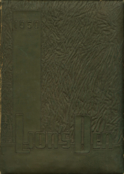 1950 Edition, Henderson High School - Lions Den Yearbook (Henderson, TX)