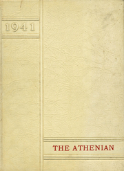 1941 Edition, Athens High School - Athenian Yearbook (Athens, TX)