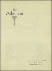 Page 5, 1945 Edition, Athens High School - Athenian Yearbook (Athens, TX) online yearbook collection