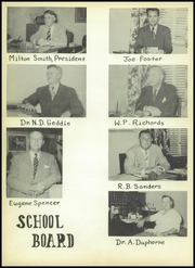 Page 12, 1953 Edition, Athens High School - Athenian Yearbook (Athens, TX) online yearbook collection