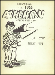 Page 5, 1953 Edition, Athens High School - Athenian Yearbook (Athens, TX) online yearbook collection