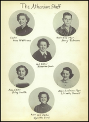 Page 9, 1953 Edition, Athens High School - Athenian Yearbook (Athens, TX) online yearbook collection