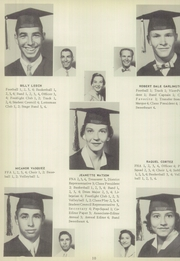 Page 14, 1956 Edition, Los Fresnos High School - Falcon Yearbook (Los Fresnos, TX) online yearbook collection