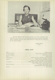 Page 6, 1956 Edition, Los Fresnos High School - Falcon Yearbook (Los Fresnos, TX) online yearbook collection