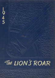 Page 1, 1945 Edition, Livingston High School - Lions Roar Yearbook (Livingston, TX) online yearbook collection
