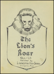 Page 7, 1945 Edition, Livingston High School - Lions Roar Yearbook (Livingston, TX) online yearbook collection
