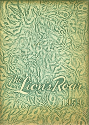 Page 1, 1959 Edition, Livingston High School - Lions Roar Yearbook (Livingston, TX) online yearbook collection