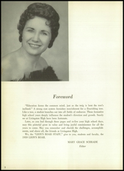 Page 8, 1959 Edition, Livingston High School - Lions Roar Yearbook (Livingston, TX) online yearbook collection