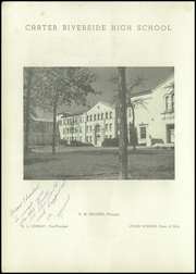 Page 4, 1944 Edition, Carter Riverside High School - Eagle Yearbook (Fort Worth, TX) online yearbook collection