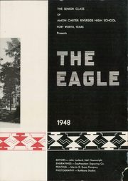 Page 7, 1948 Edition, Carter Riverside High School - Eagle Yearbook (Fort Worth, TX) online yearbook collection