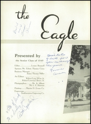 Page 6, 1949 Edition, Carter Riverside High School - Eagle Yearbook (Fort Worth, TX) online yearbook collection