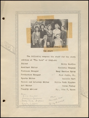 Page 9, 1944 Edition, Red Oak High School - Hawk Yearbook (Red Oak, TX) online yearbook collection