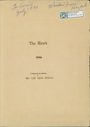 Page 3, 1948 Edition, Red Oak High School - Hawk Yearbook (Red Oak, TX) online yearbook collection