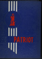 1968 Edition, Memorial High School - Patriot Yearbook (San Antonio, TX)