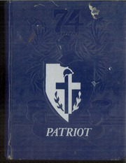 1974 Edition, Memorial High School - Patriot Yearbook (San Antonio, TX)