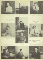 Page 14, 1950 Edition, Brownsville High School - Palmetto Yearbook (Brownsville, TX) online yearbook collection