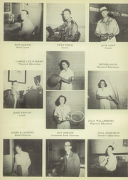 Page 16, 1950 Edition, Brownsville High School - Palmetto Yearbook (Brownsville, TX) online yearbook collection