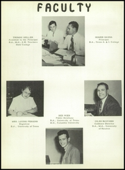 Page 12, 1951 Edition, Brownsville High School - Palmetto Yearbook (Brownsville, TX) online yearbook collection