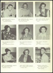 Page 13, 1951 Edition, Brownsville High School - Palmetto Yearbook (Brownsville, TX) online yearbook collection