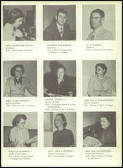 Page 15, 1951 Edition, Brownsville High School - Palmetto Yearbook (Brownsville, TX) online yearbook collection