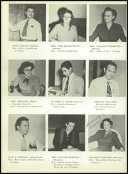 Page 16, 1951 Edition, Brownsville High School - Palmetto Yearbook (Brownsville, TX) online yearbook collection