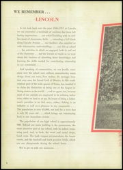 Page 10, 1957 Edition, Lincoln High School - Bumblebee Yearbook (Port Arthur, TX) online yearbook collection