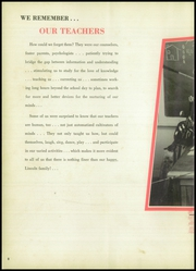 Page 12, 1957 Edition, Lincoln High School - Bumblebee Yearbook (Port Arthur, TX) online yearbook collection