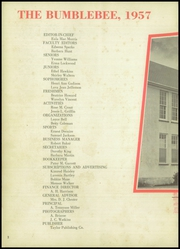 Page 6, 1957 Edition, Lincoln High School - Bumblebee Yearbook (Port Arthur, TX) online yearbook collection