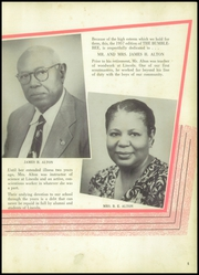 Page 9, 1957 Edition, Lincoln High School - Bumblebee Yearbook (Port Arthur, TX) online yearbook collection