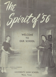 Page 5, 1956 Edition, University High School - Spirit Yearbook (Waco, TX) online yearbook collection